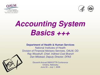 Accounting System Basics +++