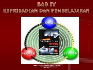 BAB IV KEPRIBADIAN DAN PEMBELAJARAN