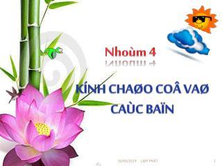 Nhoùm  4