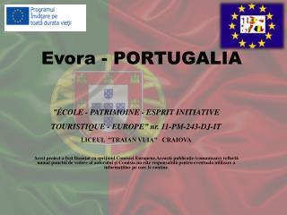 Evora - PORTUGALIA