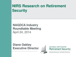 NIRS Research on Retirement Security