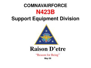 COMNAVAIRFORCE N423B   Support Equipment Division