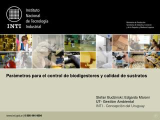 Par metros para el control de biodigestores y calidad de sustratos