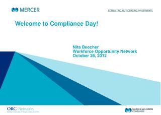 Welcome to Compliance Day!
