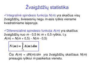 �vaig�d�i? statistika