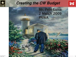 Creating the CW Budget