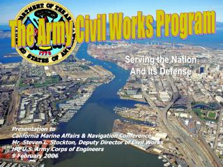 The Army Civil Works Program