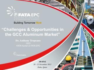 """Challenges & Opportunities in the GCC Aluminum Market"""