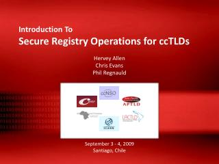 Introduction To Secure Registry Operations for ccTLDs
