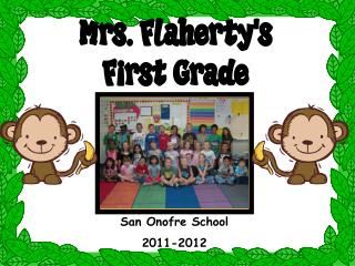 San Onofre School 2011-2012