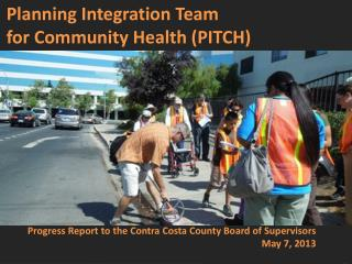 Planning Integration Team  for Community Health (PITCH)