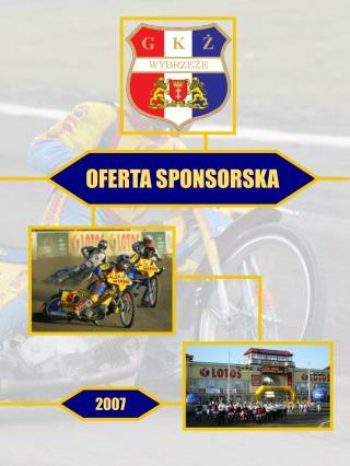 OFERTA SPONSORSKA