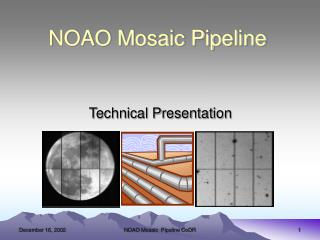 NOAO Mosaic Pipeline
