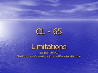 CL - 65
