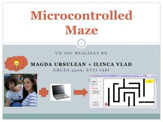 Microcontrolled  Maze