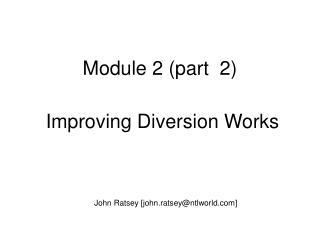 Module 2 (part  2)