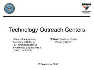 Technology Outreach Centers
