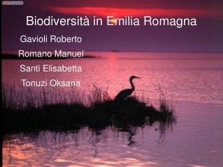 Biodiversità in Emilia Romagna