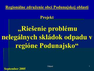 Regionálne združenie obcí Podunajskej oblasti
