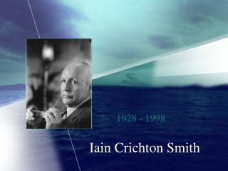 Iain Crichton Smith