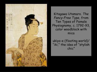 Suzuki Harunobu.  Shimizu , from Seven Komachi, c.1767, woodblock