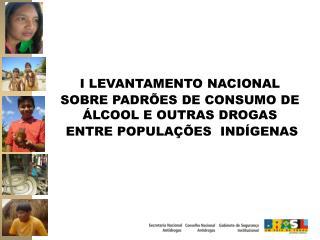 I LEVANTAMENTO NACIONAL  SOBRE PADRÕES DE CONSUMO DE ÁLCOOL E OUTRAS DROGAS