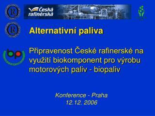 Konference - Praha  12.12. 2006