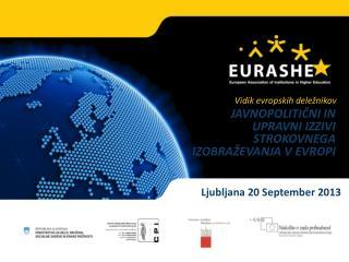 Ljubljana 20 September 2013