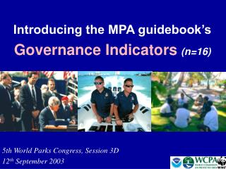Introducing the MPA guidebook's Governance Indicators (n=16)
