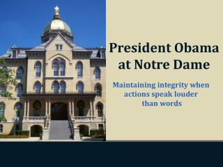 Maintaining integrity when actions speak louder  than words