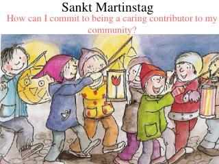 Sankt Martinstag