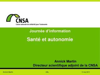Journ e d information  Sant  et autonomie