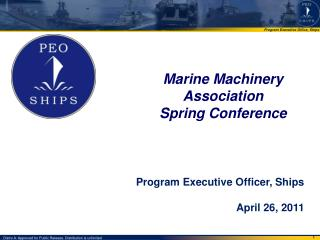Marine Machinery Association  Spring Conference