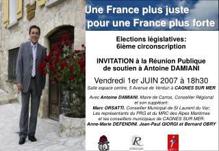 Une France plus juste  pour une France plus forte