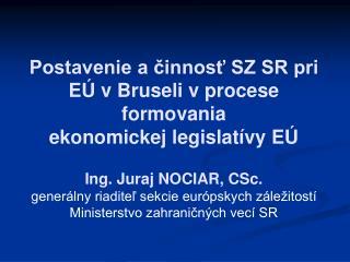 Hlavné inštitúcie EÚ