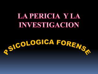 PSICOLOGICA FORENSE