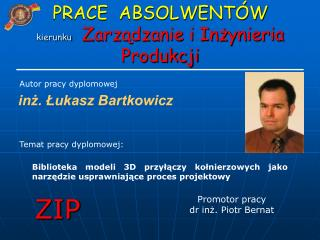 inż. Łukasz Bartkowicz