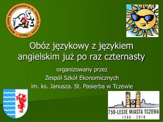 Obóz językowy z językiem angielskim już po raz czternasty