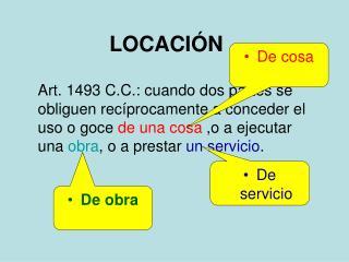 LOCACIÓN