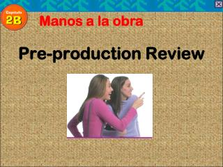 Pre-production Review