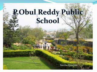 P.Obul Reddy Public School