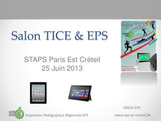 Salon TICE & EPS