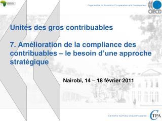 Nairobi, 14 � 18 f�vrier 2011