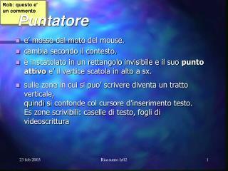Puntatore