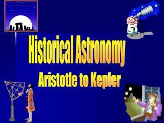Historical Astronomy
