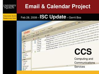 Email & Calendar Project