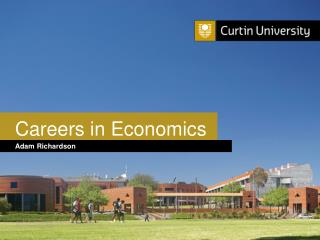 Careers in Economics