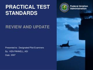 PRACTICAL TEST STANDARDS