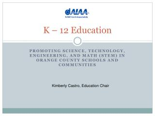 K – 12 Education
