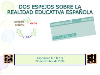 DOS ESPEJOS SOBRE LA REALIDAD EDUCATIVA ESPAÑOLA